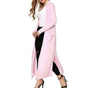 Sweaters - NWOT Long Sleeve Open Front Long Maxi Cardigan